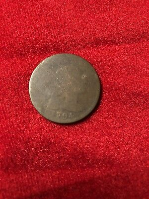 1794 Liberty Cap Large Cent Coin