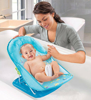 Newborn Baby Bath Tub Infant Support Safety Toddler Bathing Comfortable Foldable