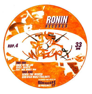"""12"""" Uk ** Deckwrecka - Sever The Wicked (Ronin '96) **8021"""