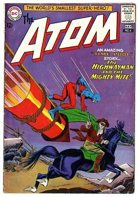 Atom #6 FN- 5.5 ow/white pages  DC  1963  No Reserve