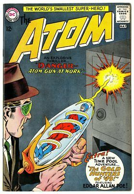Atom #12 VF/NM 9.0 off-white pages  DC  1964  No Reserve
