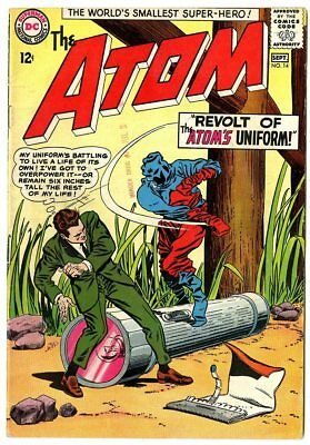 Atom #14 VF 8.0 ow/white pages  DC  1964  No Reserve