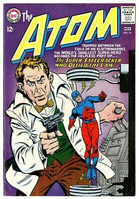 Atom #15 VF/NM 9.0 white pages  DC  1964  No Reserve