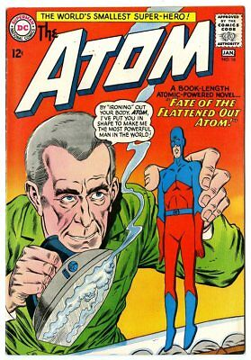 Atom #16 NM- 9.2 off-white pages  DC  1965  No Reserve