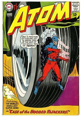 Atom #17 VF 8.0 ow/white pages  DC  1965  No Reserve