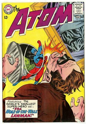 Atom #18 NM- 9.2 ow/white pages  DC  1965  No Reserve