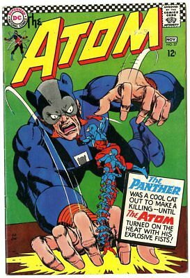 Atom #27 VF/NM 9.0 white pages  DC  1966  No Reserve