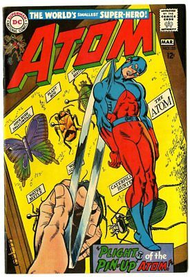Atom #35 NM- 9.2 ow/white pages  DC  1968  No Reserve