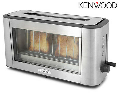 Kenwood Persona Glass Toaster-TOG800CL