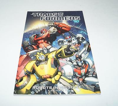 The Transformers Robots In Disguise Volume 1 IDW Comics TPB Graphic Novel Varian