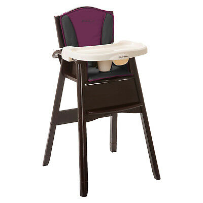 BRAND NEW Eddie Bauer First Adventure Classic 3-in-1 Wooden High Chair HC238DJD