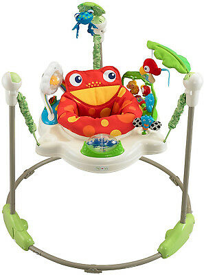 BRAND NEW OPEN BOX Fisher-Price Rainforest Jumperoo for Toddlers