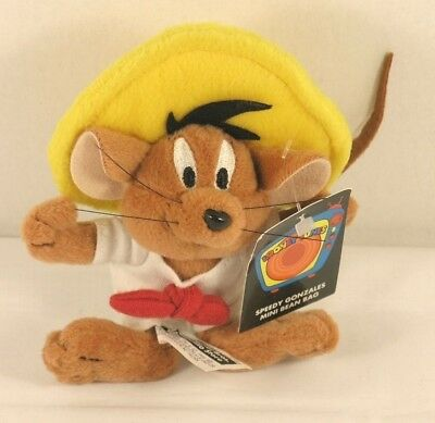 Collectible Speedy Gonzales Mini Bean Bag 1999
