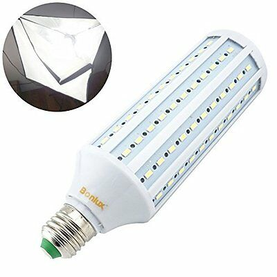 Bonlux 40W LED Studio Light Bulb Medium Screw Base 5500k Daylight Balanced Bulb