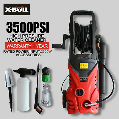 X-BULL 3500 Psi High Pressure Water Washer Cleaner Electric Gurney Pump Hose