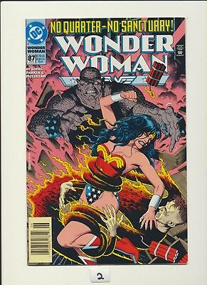 WONDER WOMAN #87! Bolland Bondage Cover! DC 1994! SEE SCANS! WOW! RARE!