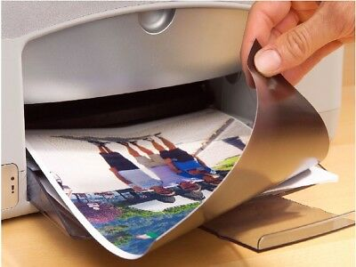 BULK - Glossy or Matt Inkjet Print Magnetic Magnet A4 Photo Paper Sheet Printer