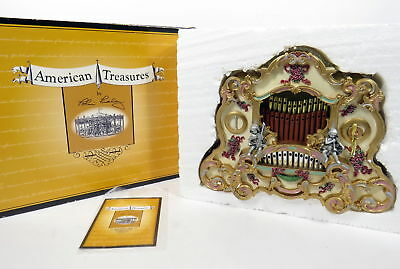 San Francisco Music Box Company Tobin Fraley Band Organ American Treasures