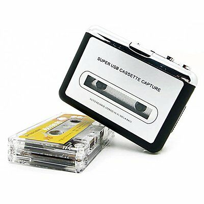 Tape to PC USB Cassette + MP3 CD Converter Capture Digital Audio Music Player M