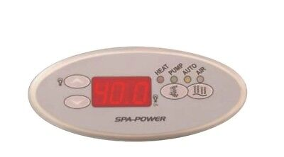 Davey Spa Power Touchpad Control SpaPower SpaQuip SP601 incl. Decal Oval