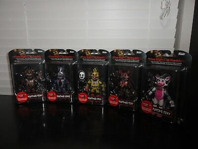 Funko Five Nights At Freddy's Collectible Nightmare Figures Complete Set
