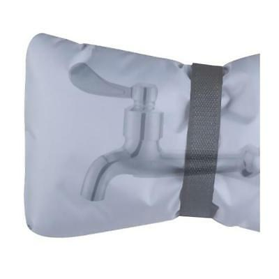 Outdoor Faucet Cover, Faucet Socks for Freeze Protection 18x 15cm Gray