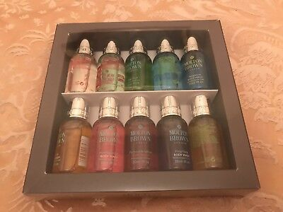 Molton Brown Signature Body Wash Collection Gift Set - 10 x 30ml