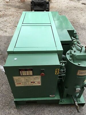 50 HP Garner Denver Electra rotary screw compressor