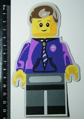Large MINIFIG BOY SCOUT BADGE, 14 cm tall, Very impressive