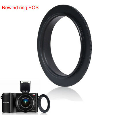 Black 58mm - 46mm Lens Stepping Step Down Filter Adapter Ring 58 to 46 mm