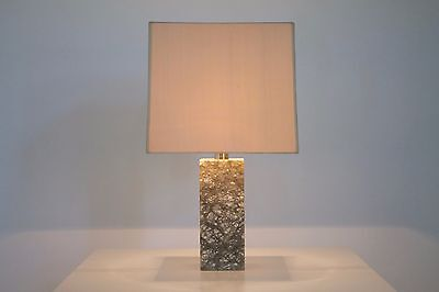 Marmor Tischleuchte, 60er Jahre Marble Table Lamp 60s mangiarotti italy knoll