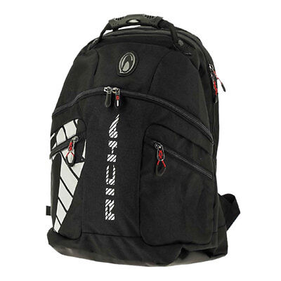 Richa Pitstop Black Motorcycle Motorbike Rucksack Bag With Rain Cover | 40 L