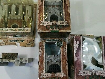 WizKids Mage Knight Castle Keep Tower Gatehouse Walls lot