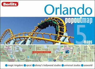 Orlando Berlitz PopOut Map (Berlitz PopOut Maps) by Orlando Sheet map, folded
