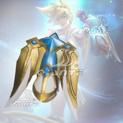 League of Legends LOL Star Guardian Ezreal Greaves Cosplay Weapon Prop Handmade