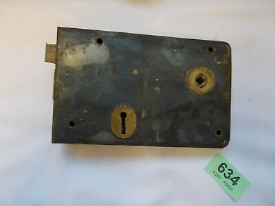 Vintage Antique Rim Lock Door Latch Locks 634