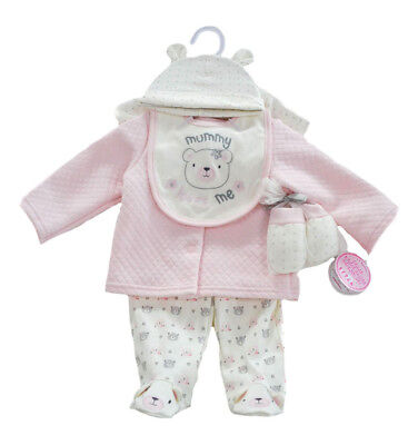 Baby Girls 6 Piece Clothing Layette Gift Set - Mummy Loves Me (3-6 Months)