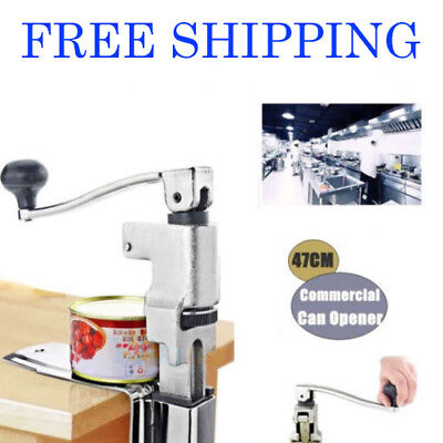Can Opener Fit Commercial Restaurant Chef HeavyDuty Table Bench Clamp Can Opener