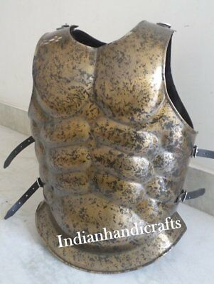 Muscle Armour Jacket_Medieval Knight Fightor's Spartan Halloween Costume