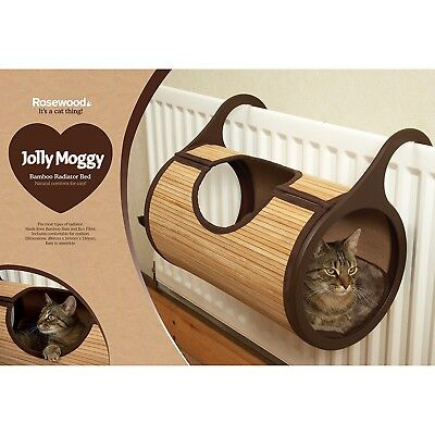 Jolly Moggy Natural Bamboo Radiator Bed