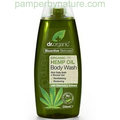 DR ORGANIC HEMP OIL BODY WASH 250ml