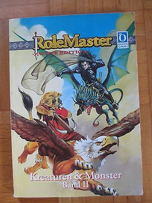 KREATUREN & MONSTER Band II RoleMaster Zweite Edition 1997 – Deutsch 2 Queen Gam