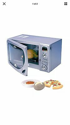 New Casdon Kids Toy Delonghi Microwave Pretend Play 492
