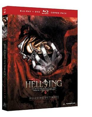 NEW Hellsing Japan Anime Comic Blu-Ray Vol 1-4 Japanese / English Rare Manga 1