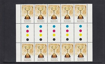 AUSTRALIA - 2010 The 150th MELBOURNE CUP Horse Race - Full Gutter of 10 MNH