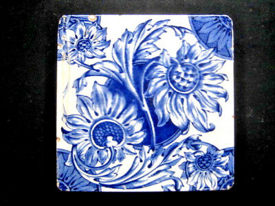 Very Old  Rare Ceramic Tile Tile 6X6Inches