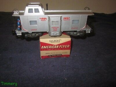 American Flyer 25052 S Gauge Action Deluxe Caboose Unused Pristine w/OB