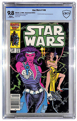 Star Wars #106 1986 Newsstand 9.8 CBCS White Pages