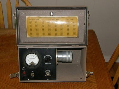 FEL Frequency Engineering Laboratories cavity wavemeter microwave 5.8 to 8.1 Ghz