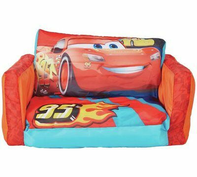 Worlds Apart CARS 3 Inflatable Flip Out Sofa, Kids Furniture, ReadyRoom Chair